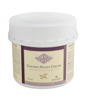 ANNA LOTAN Liquid Gold Golden Night Cream 250ml